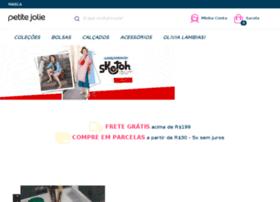 lojinha.petitejolie.com.br