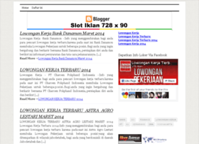 lokerjabaru.blogspot.com