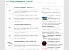 lokerlowongankerjaterbaru.com
