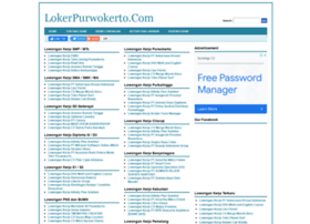 lokerpurwokerto.com