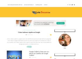 lolaseoane.com