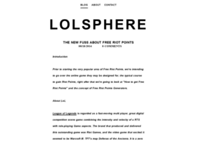 lolsphere.weebly.com