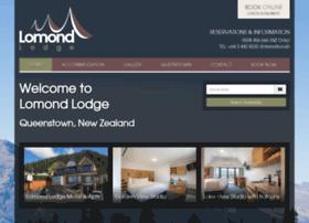 lomondlodge.com