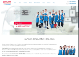 london-domestic-cleaners.co.uk