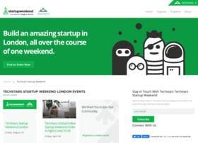london.startupweekend.org