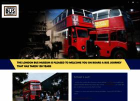 londonbusmuseum.com
