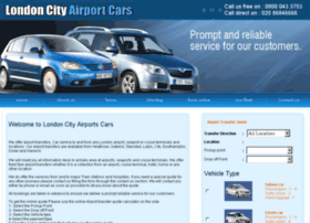 londoncityairportscars.co.uk