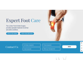 londonfootandanklesurgery.co.uk