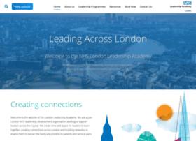 londonleadershipacademy.nhs.uk