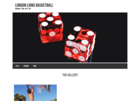 londonlionsbasketball.com