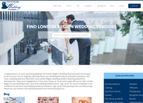 londonregionweddingplanner.com