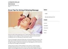 londonrelaxmassage.co.uk