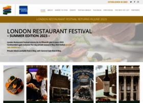 londonrestaurantfestival.com