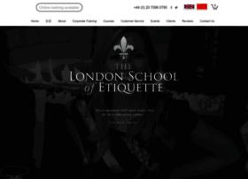 londonschoolofetiquette.com