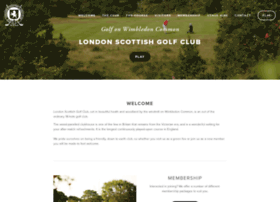 londonscottishgolfclub.co.uk