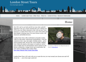 londonstreettours.co.uk
