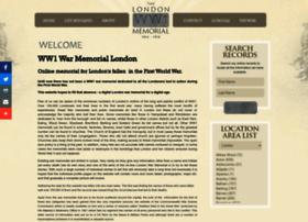 londonwarmemorial.co.uk