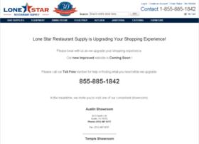 lonestarrestaurantsupply.com