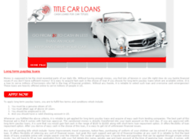 long.term.payday.loans.titlecarloans.net