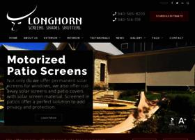 longhornsolarscreens.com