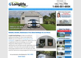 longlifesteelbuildings.com