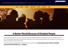 longmoreinstitute.sfsu.edu