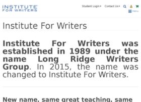 longridgewritersgroup.net