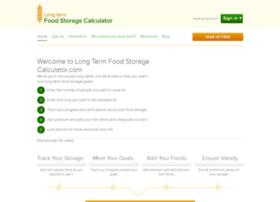 longtermfoodstoragecalculator.com