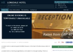 lonsdale-london.hotel-rez.com