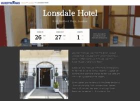 lonsdalehotellondon.com