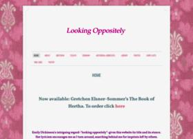 lookingoppositely.com