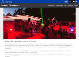 lookoutobservatory.unca.edu