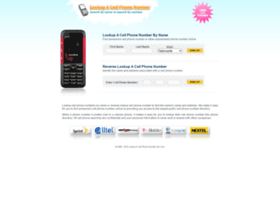 lookupacellphonenumber.com