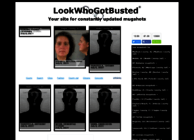 lookwhogotbusted.com