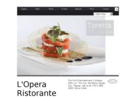 loperaristorante.com