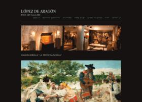 lopezdearagon.com
