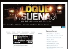loquesuena.com