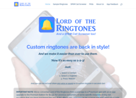 lordoftheringtones.com