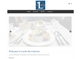 lordscaterers.co.uk