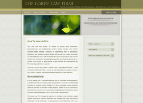 loreelawfirm.com