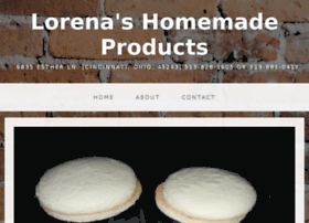 lorenashomemadeproducts.com