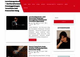 lorettanapoleoni.net