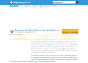 los-sims-2-decora-tu-familia-parche.programas-gratis.net