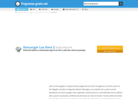 los-sims-2.programas-gratis.net