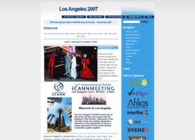 losangeles2007.icann.org