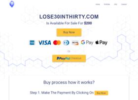 lose30inthirty.com