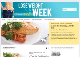 loseweightinweek.com