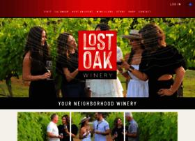 lostoakwinery.com