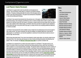 lostplanet2game.com