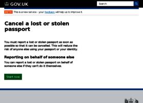 loststolenpassport.service.gov.uk